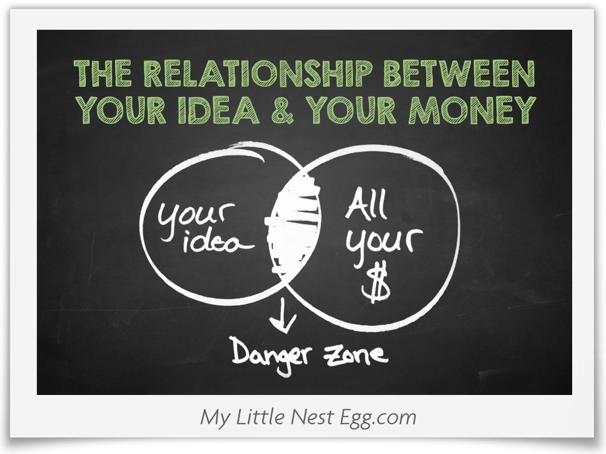 The Relationship Between Your Idea and Your Money Can Be Dangerous!
